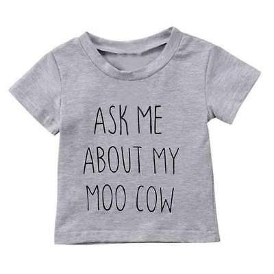 """""""Ask me about My Moo Cow"""" T-shirt"""