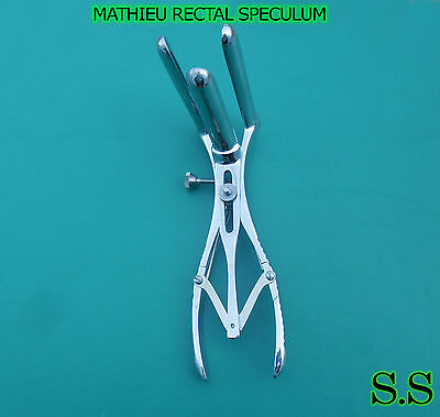 MATHIEU RECTAL SPECULUM OB/GYN UroIogy SURGICAL MEDICAL