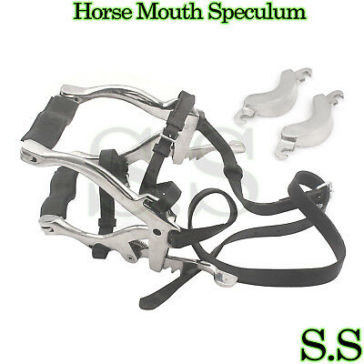 Mcpherson equine mouth speculum straps and spare plates