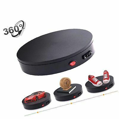 "360 Degree Electric Rotating Turntable For Photography,8"" Diameter,50lb Capac..."
