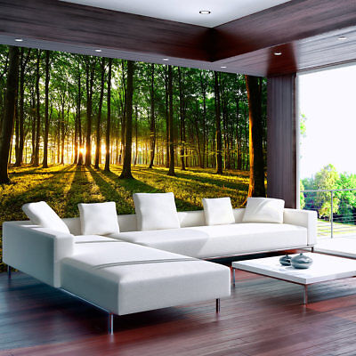 3d wallpaper xxxl non-woven home wall decor mural art forest nature c-B-0027-a-b
