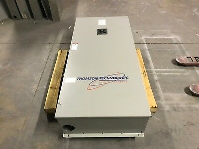 Thomson Technology Ats 400 Amp 600V 1-3Ph Ts833A0400A1Ae2Akkaa Tsc 800 Used