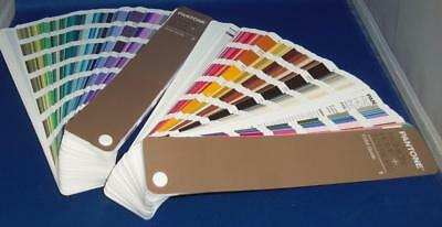 Pantone Color Process Coated Guide 1 & 2 Fashion Home Interiors FHIP110N TPG Set