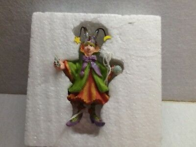 krinkles patience brewster halloween fortune teller witch ornament