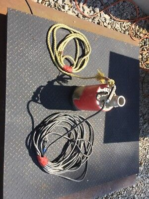 """Multiquip ST2047 Submersible 2"""" Water Pump 85 GPM 1 HP 47' Head"""