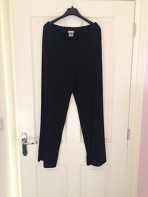 Trousers Size 10 Maternity Next Black Regular Length 29inch stretchy Ladies