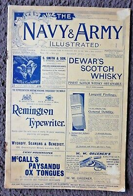 The Navy & Army Illustrated  Vol.IV No.42, Friday, July 23rd 1897, Good.