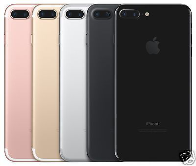 Apple iPhone 7 Plus AT&T Wireless Smartphone Black Gold Rose Gold Silver 32GB
