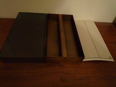 35 mm Slide Box For 100 Slides by Boots