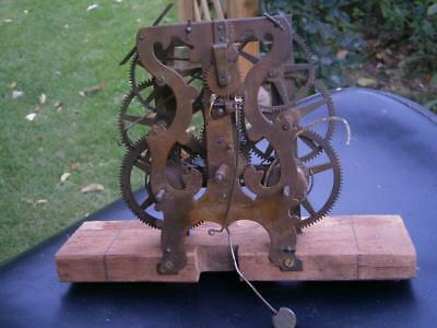 Clock Movement By Forestville  Wm F.g.co Bristol Usa
