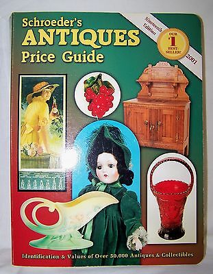 Schroeders Antiques Illustrated Price Guide 2001-19th Edition-PB