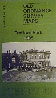 Old Ordnance Survey Map Trafford Park near Manchester 1905  S103.12 New Map