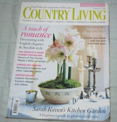 Vintage COUNTRY LIVING Magazine, February 2005