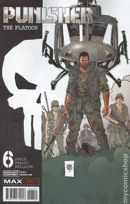 Punisher The Platoon (Marvel) #6 2018 NM Stock Image