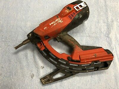 USED Hilti GX 120 GM40 Gas Powered Actuated Nail Gun Fastening Tool