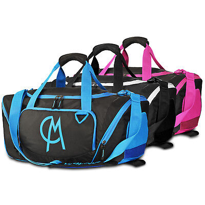 5e2070eb32 Gym Duffel Bag Luggage Bag with Shoe Compartment Large Capacity Sports Bag