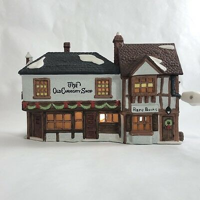 Dept 56 Dickens Village The Old Curiosity Shop Antiques and Rare Books Building