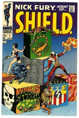 Nick Fury Agent of Shield #1 (1968) VF- New Marvel Silver Bronze Collection