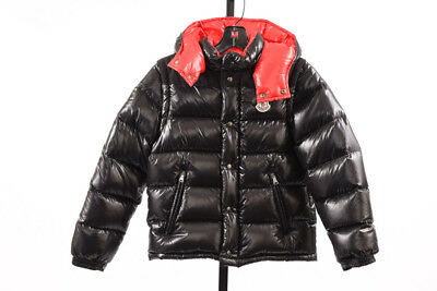 Moncler Anderson Convertible black youth 10 hood vest puffer coat jacket $695