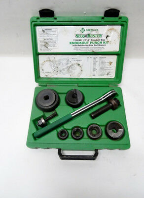 Greenlee 7238SB Slug-Buster Knockout Punch Kit 9/B17498A