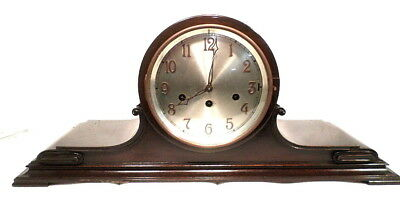 """1890 Junghans Formal Chime Mantle Clock--Very Large 24 1/2"""" Case"""