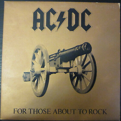 Ac/dc  For Those About To Rock (Embossed Cover)