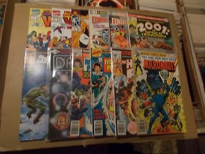 1ST ISSUES + MICRONAUTS 1 HUMAN FLY 1 DAZZLER 1 SHADOWMASTERS 1 2001 1 7 others