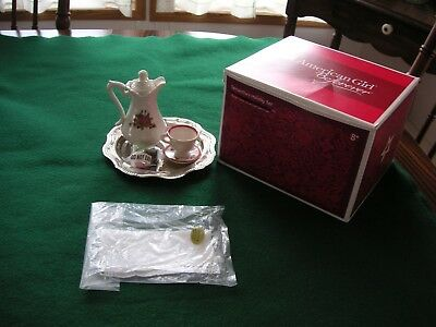 American Girl Samantha's Holiday Tea Set. New in Box. Was on Display Briefly.