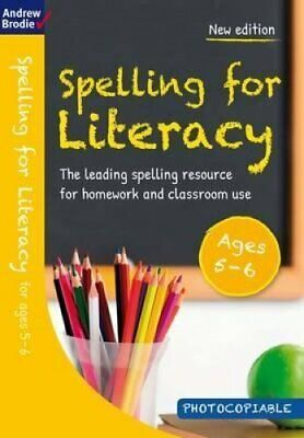 Spelling for Literacy for ages 5-6 by Andrew Brodie 9781472919229