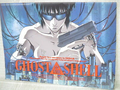 GHOST IN THE SHELL Movie Brochure Art Booklet Book Masamune Shioow 1995 Ltd *