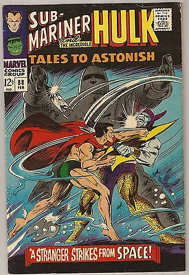 TALES TO ASTONISH #88 Fine 6.0
