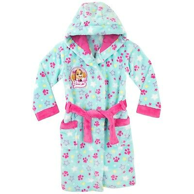 Girls Paw Patrol Dressing Gown | Paw Patrol Robe | Paw Patrol Skye Gown | NEW
