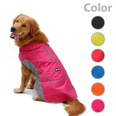 Pet Dog Winter Coat Harnes Hole Polyester Warm Soft Portable Clothes Waterproof