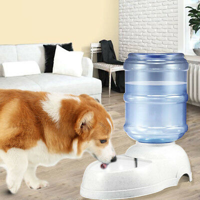 Automatic Pet Feeder Dispenser Waterer Dog Cat Self Feeding Food Water Bowl UK