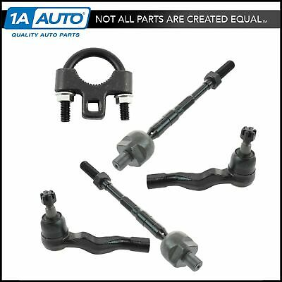 6 Piece Kit Inner Outer Tie Rod End Sway Bar Link LH RH Set for Pilot
