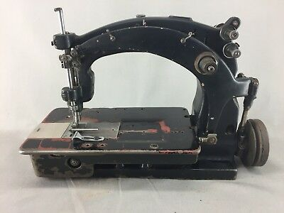 OLD SEWING MACHINE Industrielle By Singer Reference 4040 £40409 Simple How To Use A Old Sewing Machine