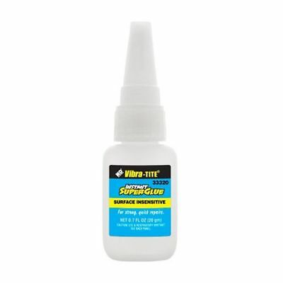 33320 - Cyanoacrylate Surface Insensitive - General Purpose - 20 gm - Clear
