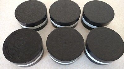 6 OREO COOKIE COLLAPSIBLE CUP LOT Promo drink camping travel advertising novelty