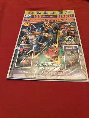 DC Comics Teen Titans 3!  100 Page Giant Walmart Exclusive High Grade! SOLD OUT!
