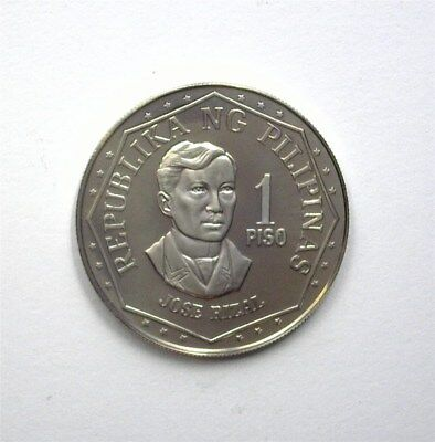 Philippines 1976 Piso  Km#209.1  Near Perfect Proof Dcam
