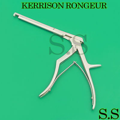 """Kerrison Laminectomy Rongeur 7"""" 4Mm 90 Degree Down Bite Stainless Steel"""