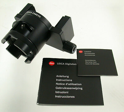 LEICA 42303 Digitaladapter Adapter 2 Spektiv spotting scope Neuzustand new