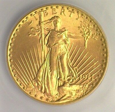 1911-D Saint Gold $20 Icg Ms67  Lists At $60,000 Amazing Gem