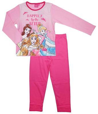 Girls Disney Princess Happily Ever After Aurora Belle Long Pyjamas 3 to 10 Years