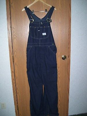 Sears Tradewear Bib Overalls Union Made Usa 36X32