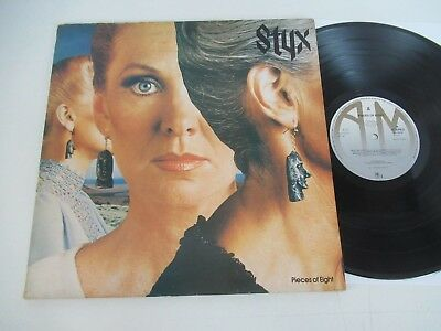 Styx/pieces Of Eight Lp Europe A&m Records Amlh 64724 Foc