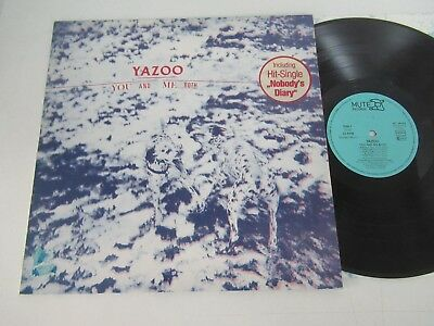 Yazoo/you And Me Both Lp Germany Mute Int 146.806