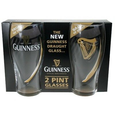 Guinness Gravity Glass Two Pack