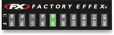 Factory Effex Temperature Stickers 3-Pack