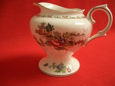 Crown Staffordshire England Fine Bone China ~~ Pagoda ~~ Milk Jug / Creamer